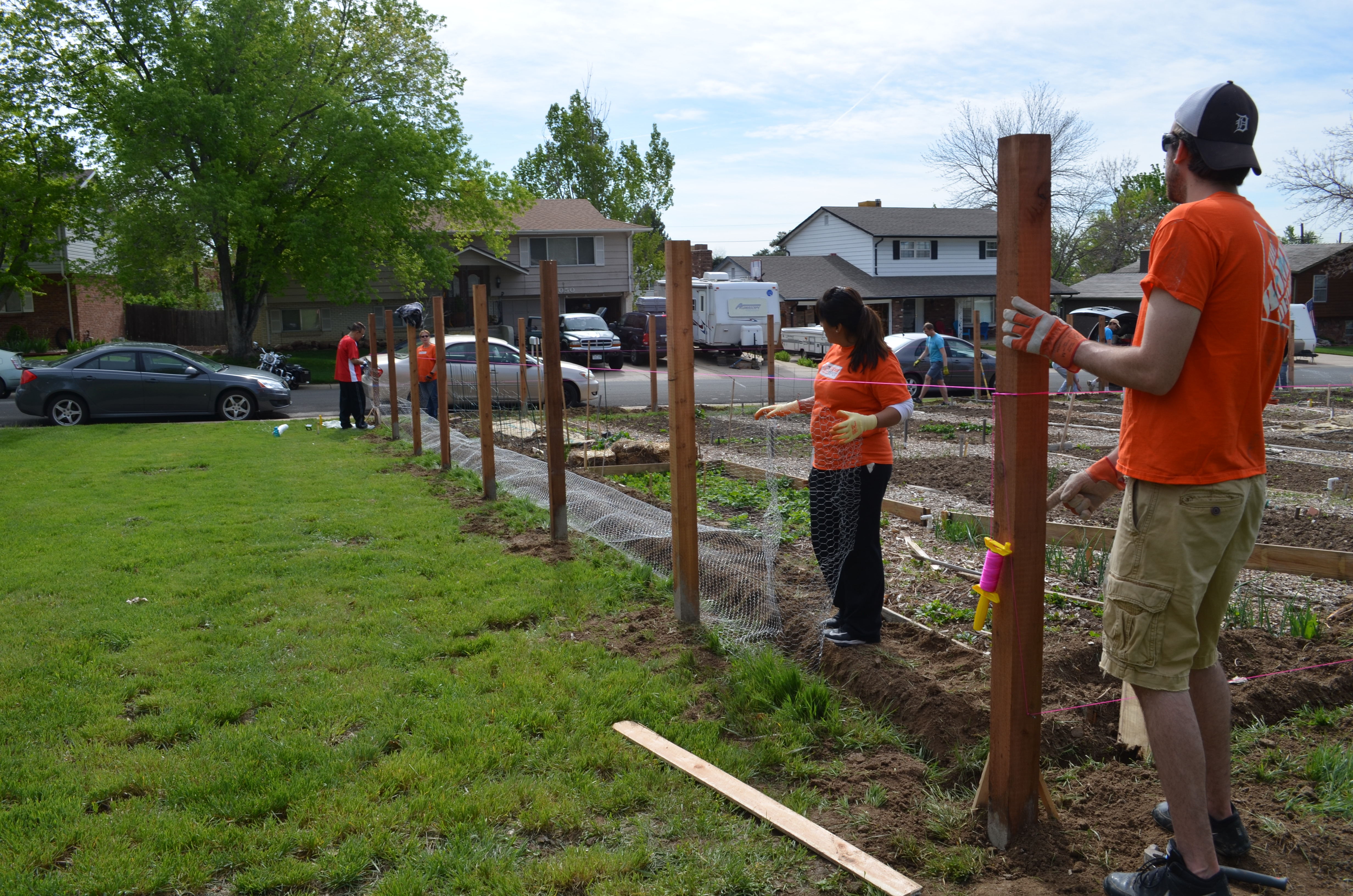 Thanks To Home Depot And Birch Community Garden Volunteers